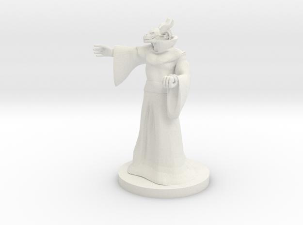 Dragonborn Sorceror 4 in White Natural Versatile Plastic