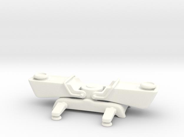 Teleporter in White Processed Versatile Plastic