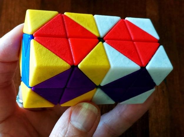 Melinda's 2x2x2x2 in Purple Processed Versatile Plastic