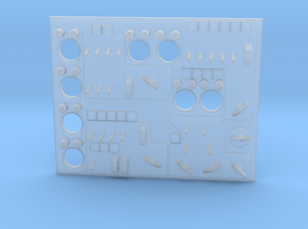 Panel Right Pilot in Smooth Fine Detail Plastic