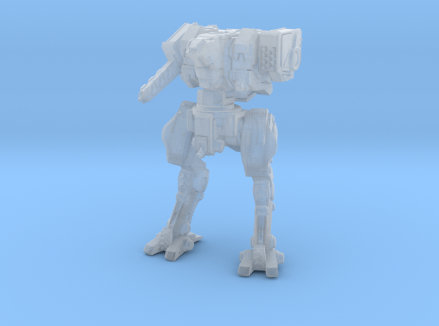 Neugen Battle Walker (2 inch version) - Pose 01 in Smooth Fine Detail Plastic