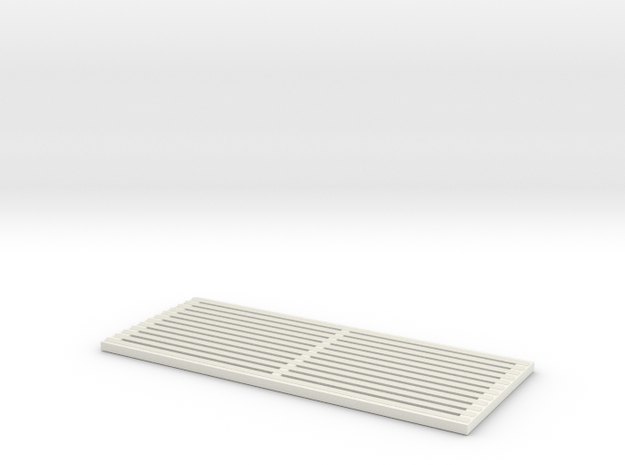 Horizontal Grill for RC4WD D90/D110 in White Natural Versatile Plastic
