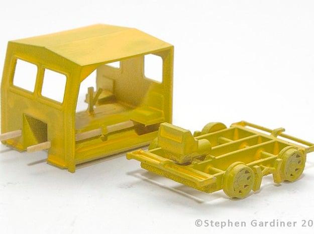 S Scale - Fairmont S2 Speeder Car in Smooth Fine Detail Plastic