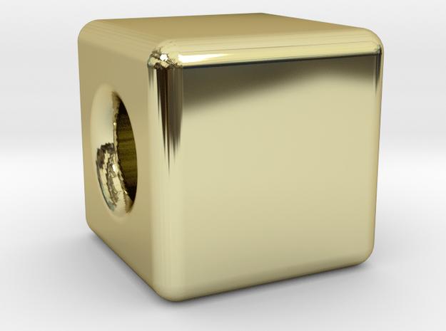 Financial Freedom Cube Bead