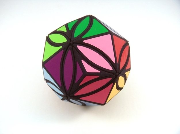 Ivy Kites Puzzle in White Natural Versatile Plastic