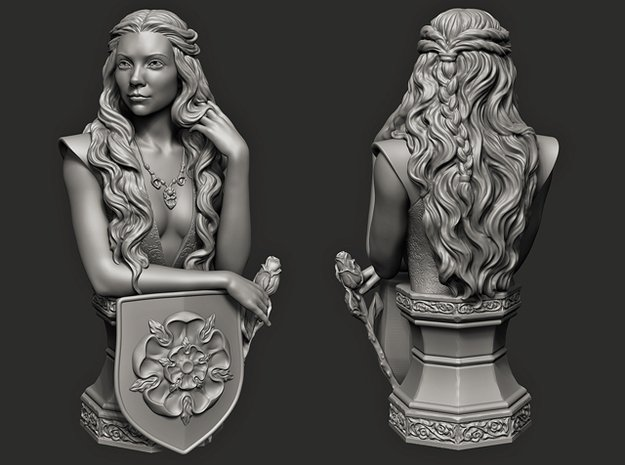Margaery Tyrell.   (14 cm\ 5.51 inches)