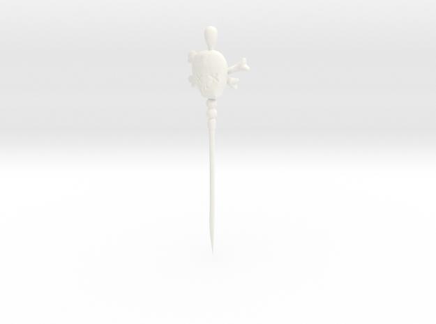 Wanga Prick in White Processed Versatile Plastic