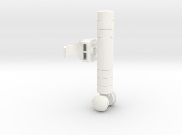 PROTOTYPE Backpackonrunner in White Processed Versatile Plastic