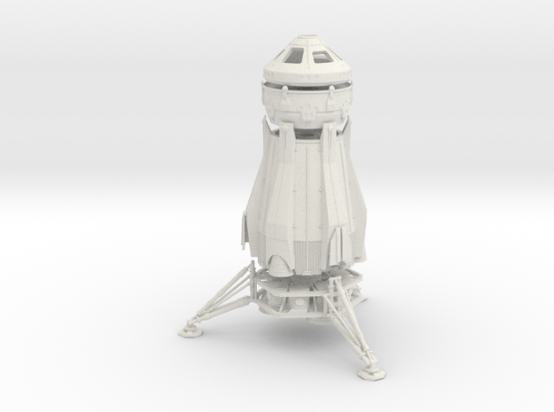 1/200 NASA/JPL ARES MARS CONVERTIBLE - COMPLETE in White Natural Versatile Plastic