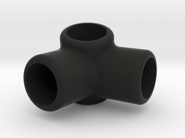 R4 - Makerchair in Black Natural Versatile Plastic