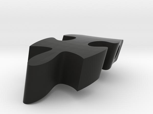 F10 - Makerchair in Black Natural Versatile Plastic