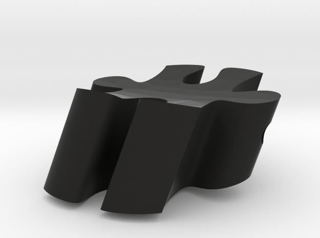 F5- Makerchair in Black Natural Versatile Plastic