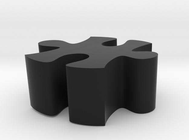 E2 - Makerchair in Black Natural Versatile Plastic