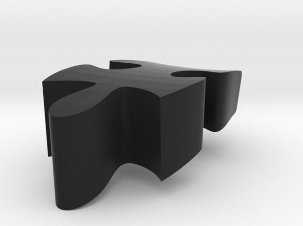 D10- Makerchair in Black Natural Versatile Plastic