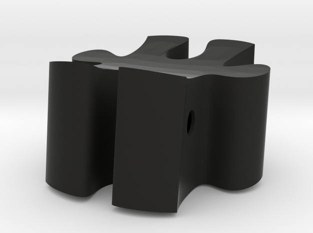 D5 - Makerchiar in Black Natural Versatile Plastic