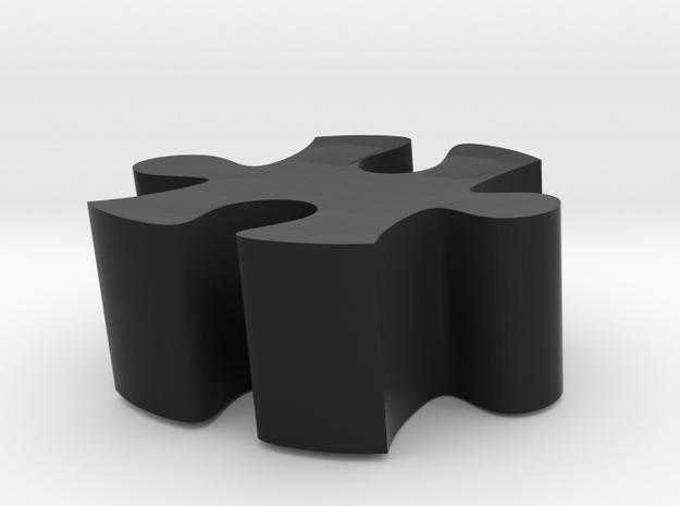 D3 - Makerchair in Black Natural Versatile Plastic