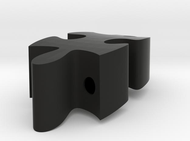C9 - Makerchair in Black Natural Versatile Plastic