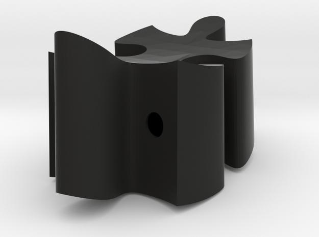 C5 - Makerchair in Black Natural Versatile Plastic