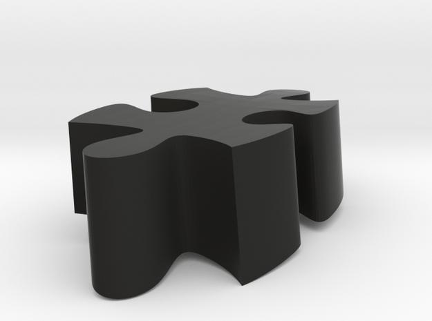 B8 - Makerchair in Black Natural Versatile Plastic