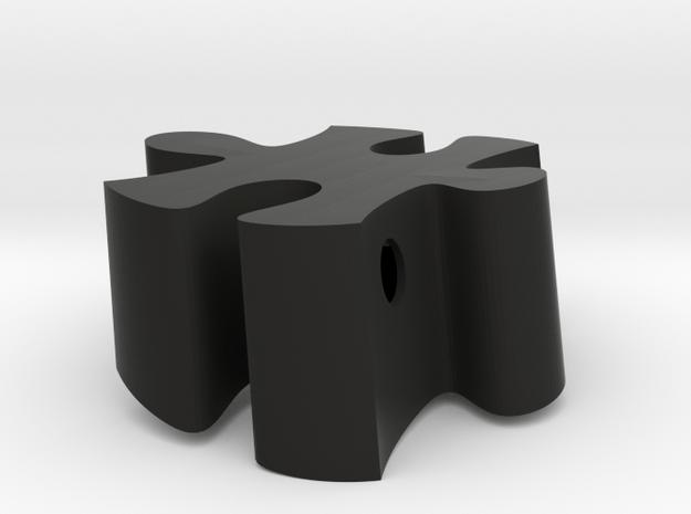 B7 - Makerchair in Black Natural Versatile Plastic