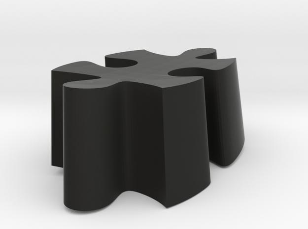 B6 - Makerchair in Black Natural Versatile Plastic