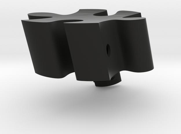 B3 - Makerchair in Black Natural Versatile Plastic