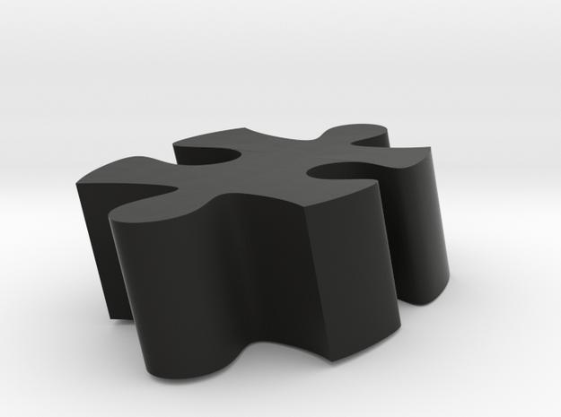 B2 - Makerchair in Black Natural Versatile Plastic
