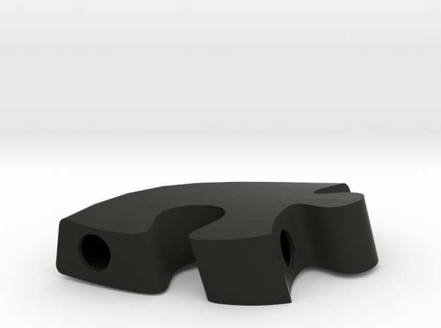 A10 - Makerchair in Black Natural Versatile Plastic