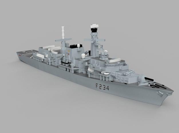 1/1800 HMS Iron_Duke in Smooth Fine Detail Plastic