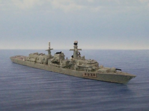 1/2000 HMS Iron Duke in Smooth Fine Detail Plastic