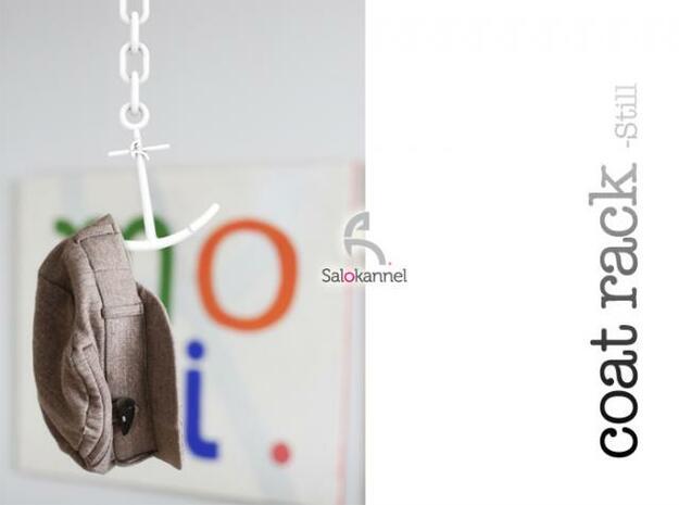 STILL-Coat rack in White Natural Versatile Plastic