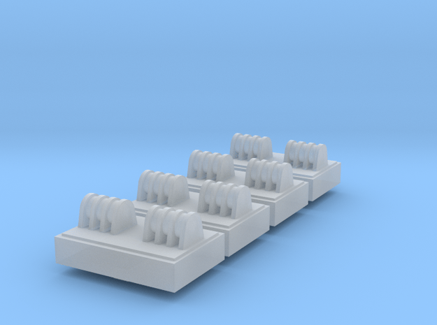 1/72 Scale Bailey Bridge Base Set in Smooth Fine Detail Plastic