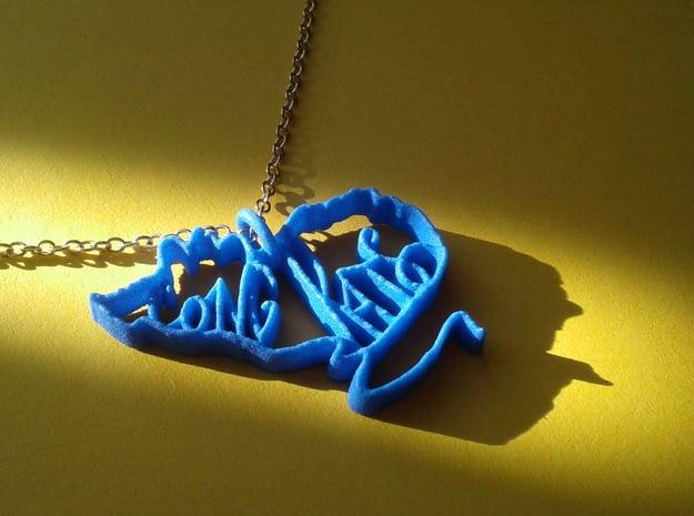 Pendant Cong Rats in Blue Processed Versatile Plastic