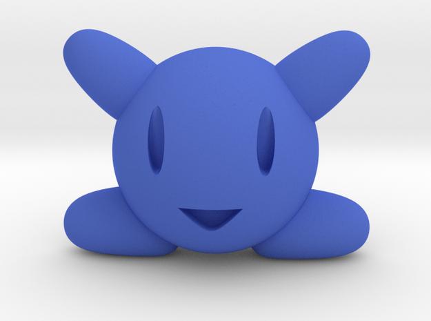 Kirby in Blue Processed Versatile Plastic