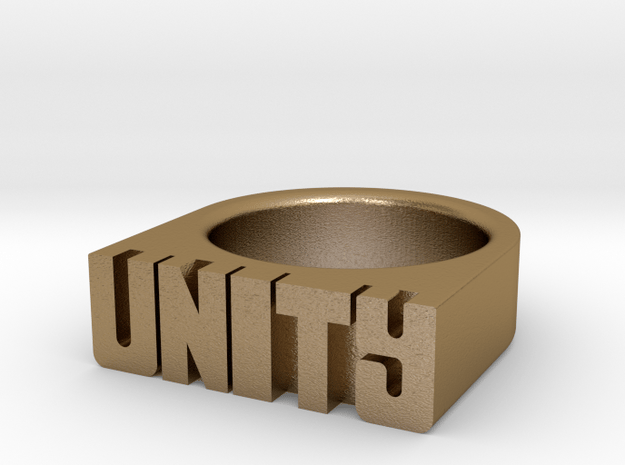 17.3mm Replica Rick James 'Unity' Ring