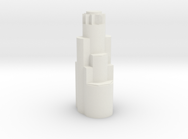 US Bank Tower  in White Natural Versatile Plastic