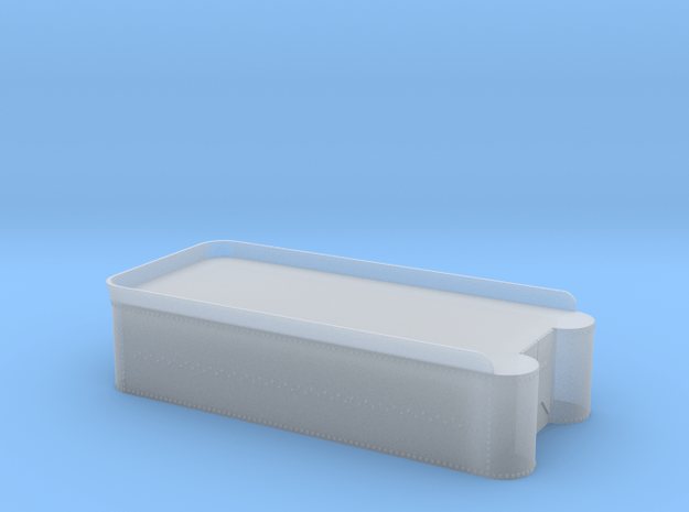 Class 56 - 60, C-16 tender tank, less details. in Smooth Fine Detail Plastic