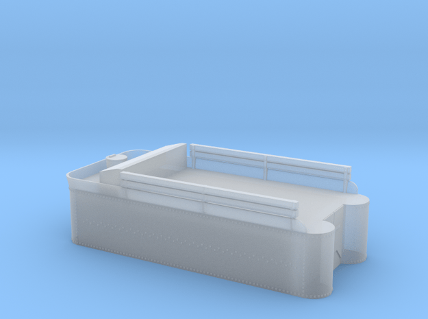 Class 56, 60, or C-16 tender tank, with rivets in Smooth Fine Detail Plastic