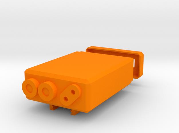Airsoft PEQ Box for Anker PowerCore 10000 in Orange Processed Versatile Plastic