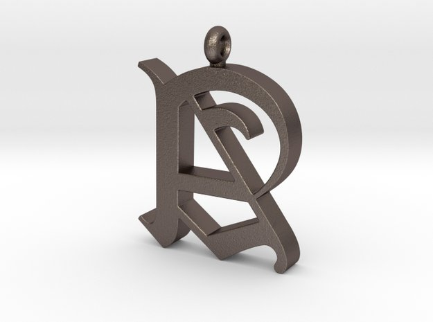 Pendant Old Letter A