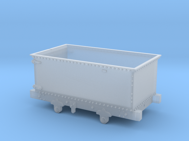 5.5mm Corris 'Queen Mary' Wagon in Smooth Fine Detail Plastic