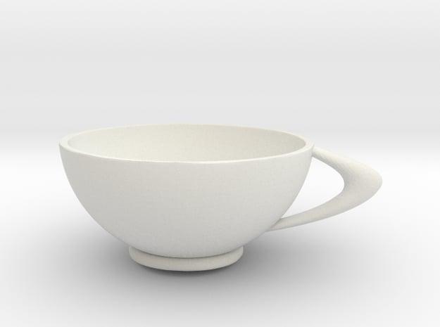 CircleCup A in White Natural Versatile Plastic: Medium