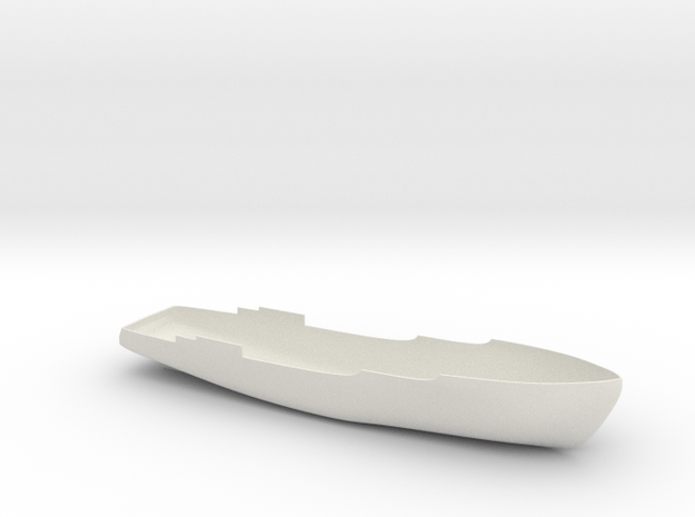 Basic Hull Holstentor in White Natural Versatile Plastic