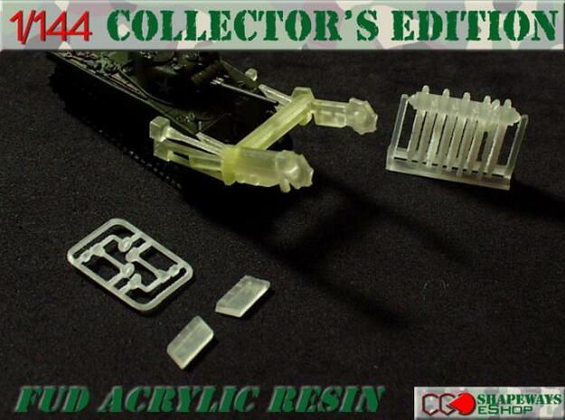 1:144 Sherman Crab Conversion Kit Travel in Smooth Fine Detail Plastic