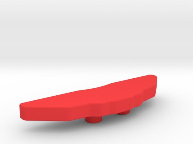 Disc Brake for 56mm Wheel_Caliper in Red Processed Versatile Plastic
