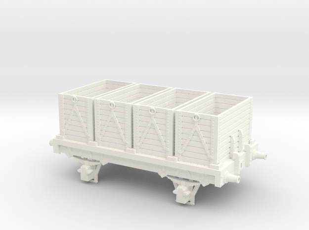 Midland Rly/LMS/British Rlys bunker coal/road ston in White Processed Versatile Plastic