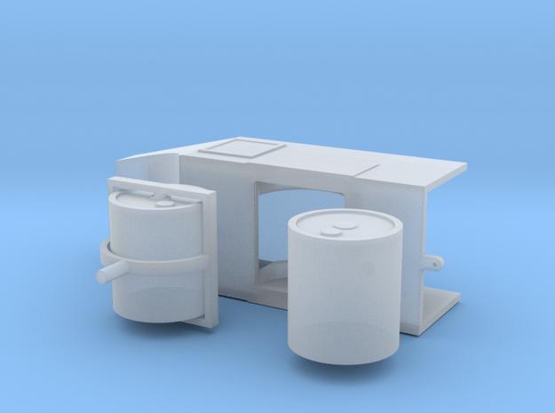 Straßenwalze ohne Verdeck 1:87 H0 in Smooth Fine Detail Plastic