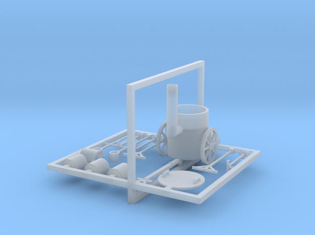 Teerkocher 1:87 H0 in Smooth Fine Detail Plastic