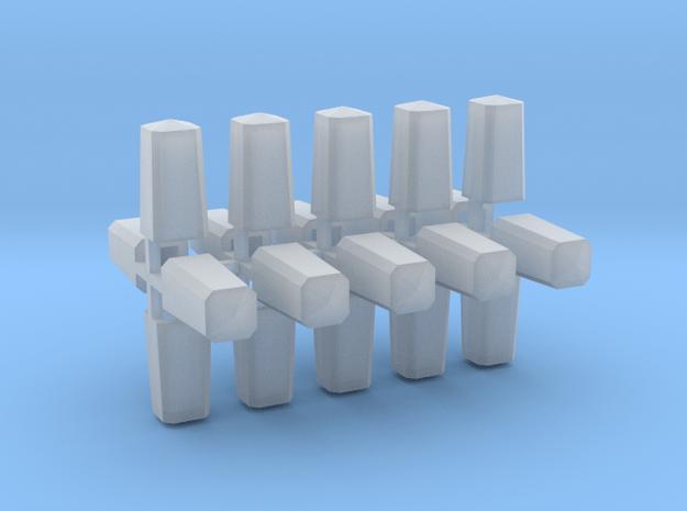 Meilenstein 20er Set 1:87 H0 in Smooth Fine Detail Plastic