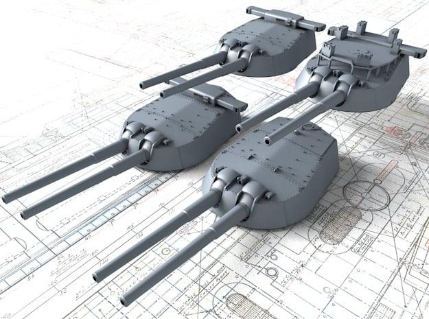 "1/450 HMS Vanguard MKI* 15"" Guns"